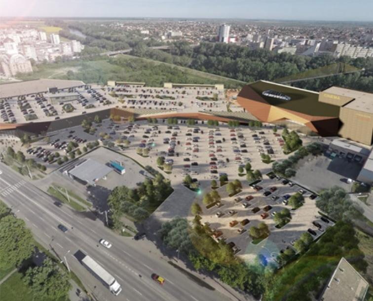 Investitorul NEPI apasă accelerația și devine agresiv pentru obținerea autorizațiilor pentru mall-ul din Satu Mare