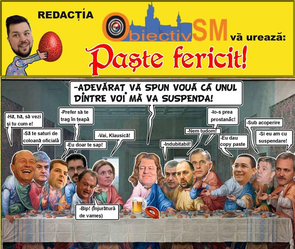 CARICATURA ZILEI!! Sărbători fără suspendare vă dorim