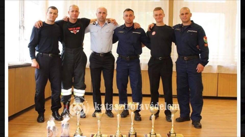 Pompierii sătmăreni au cucerit toate medaliile de aur la cea mai recentă competiție profesională