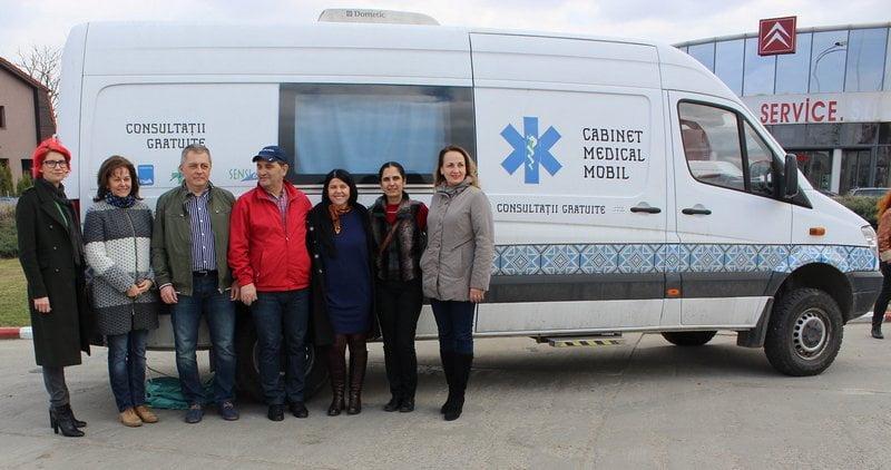 Caravana Rotary a consultat 176 de persoane. Mai multe cazuri grave descoperite