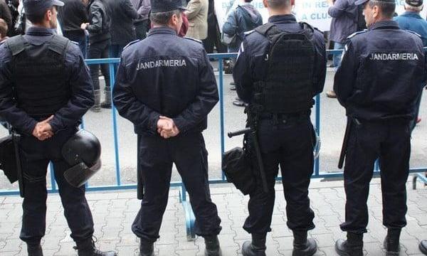 130 de jandarmi vor fi prezenți în stradă în acest weekend