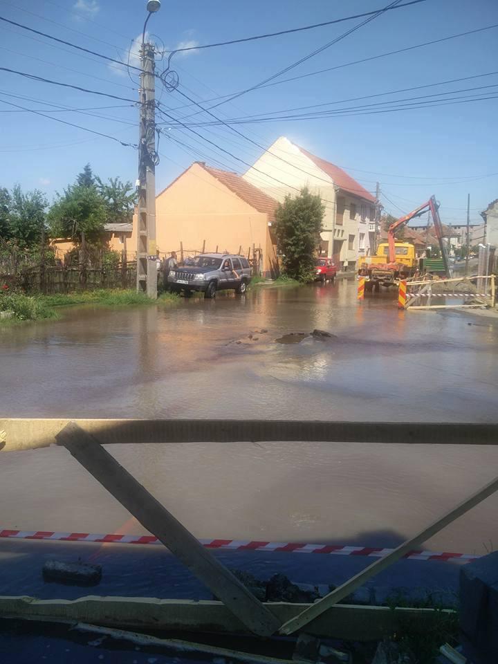 Stai în zona Soli – 14 Mai și nu ai avut apă la robinet, dar a fost inundație pe străzi? Uite de ce