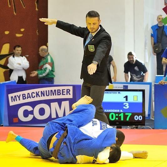 Vasi Fușle este arbitru continental la Campionatele Europene de Judo pentru veterani