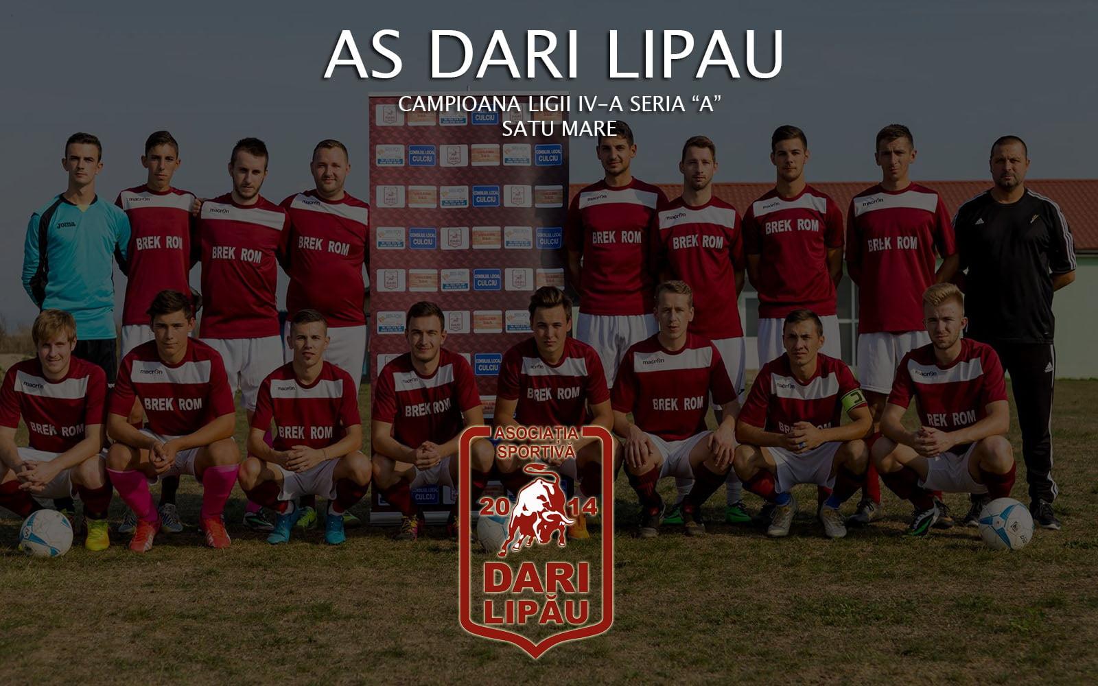 AS Dari Lipău, campioana în liga IV-a seria A din Satu Mare