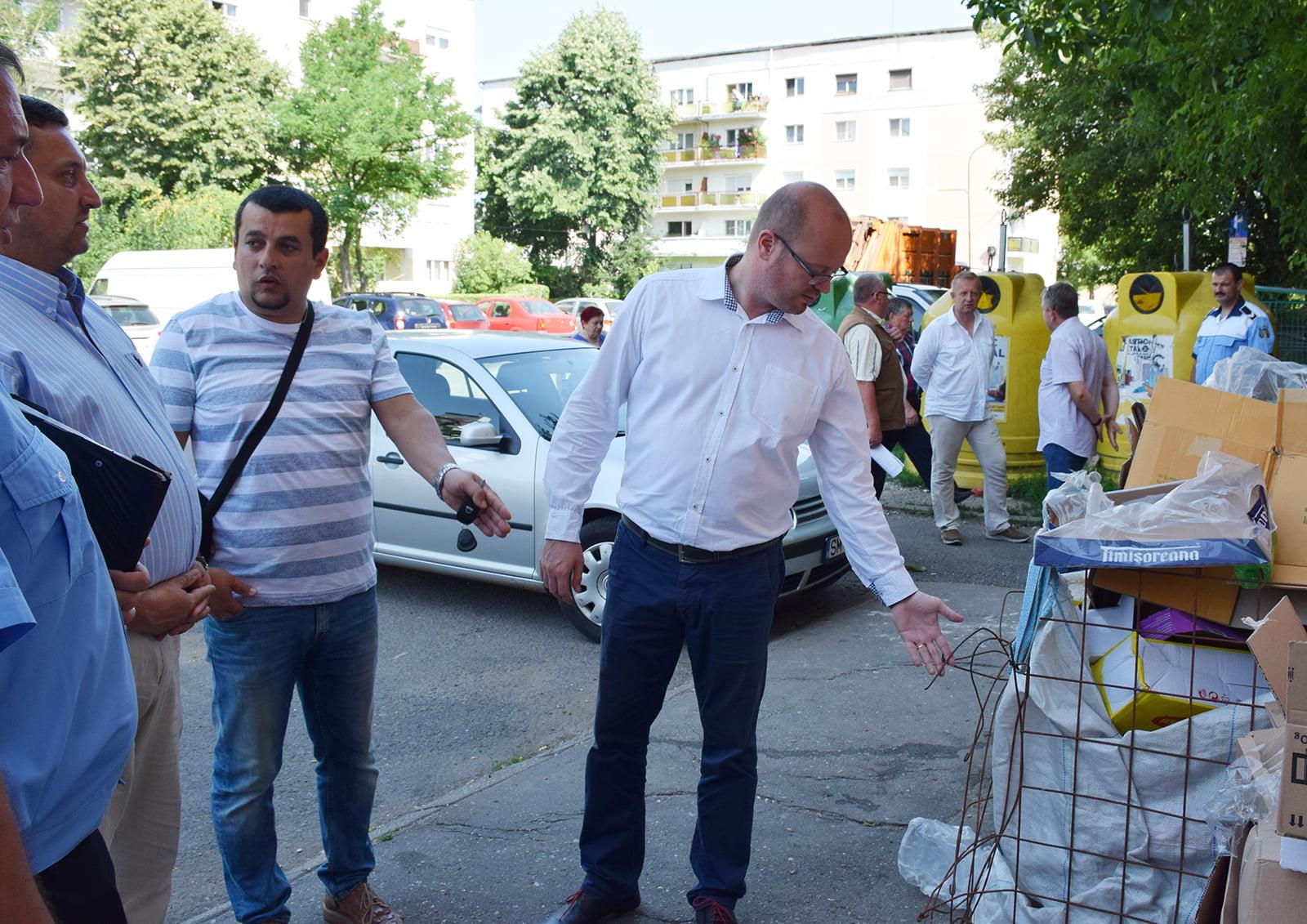 Primarul Kereskenyi vrea ca sătmărenii să învețe să colecteze selectiv