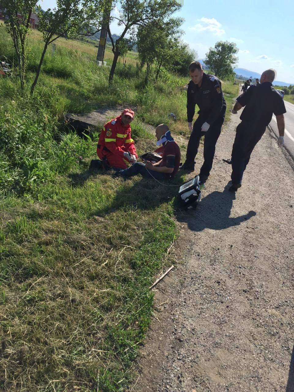 Accident mortal în Negrești. O fată a murit după ce a căzut cu motocicleta – FOTO