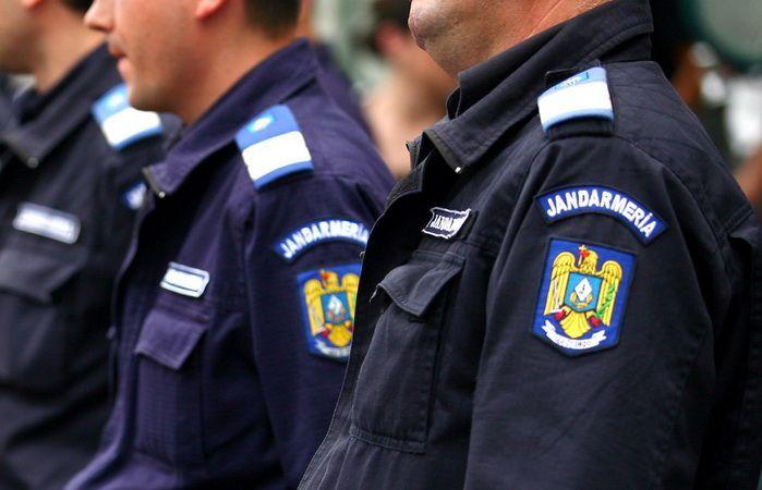 Jandarmii asigură condiţiile de securitate cu ocazia competiţiilor sportive