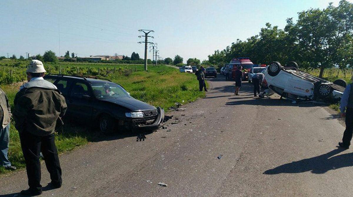 Un tânăr din Tarna Mare a produs un accident la Călinești Oaș