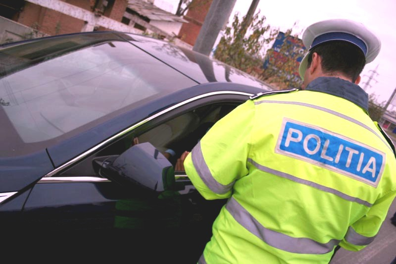 Controale în zona Oașului de către poliția rutieră