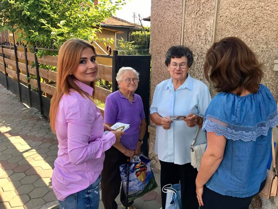 Deputatul Ioana Bran adună  problemele oamenilor din teritoriu și le duce cu ea la București pe când se sfârșește vacanța parlamentară