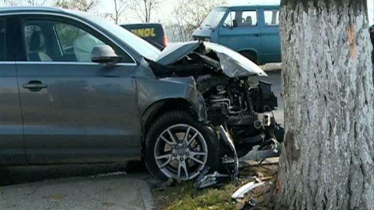 Accident din cauza alcoolului în Supuru de Sus