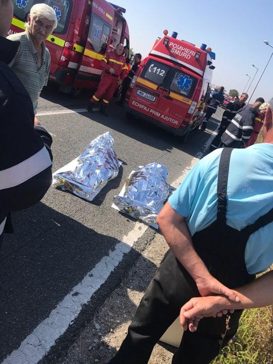 FOTO. Accident mortal între Carei și Petrești
