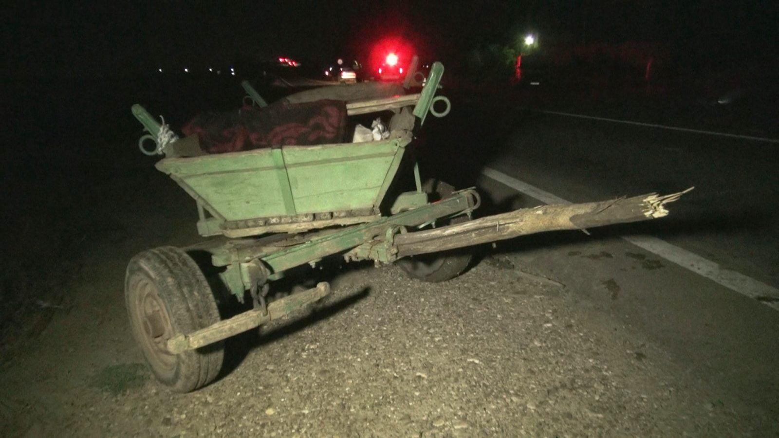 Două căruțe au fost implicate în accidente rutiere în acest weekend