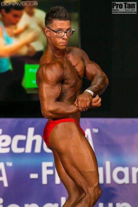 Sportiv al GrandFitness, pe podium la un concurs de culturism din Budapesta
