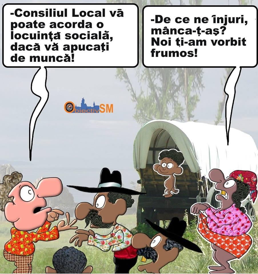 CARICATURA ZILEI!!! Locuință fără sârguință?