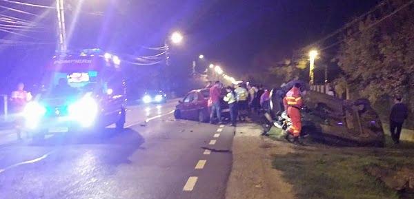 Poziția Inspectoratului de Poliție față de accidentul de seara trecută de pe Bulevardul Lucian Blaga