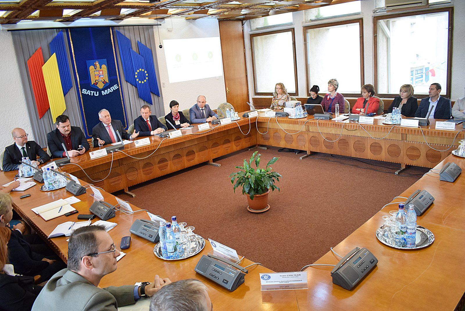 László Borbély a prezentat la Satu Mare cele 17 obiective de dezvoltare durabilă