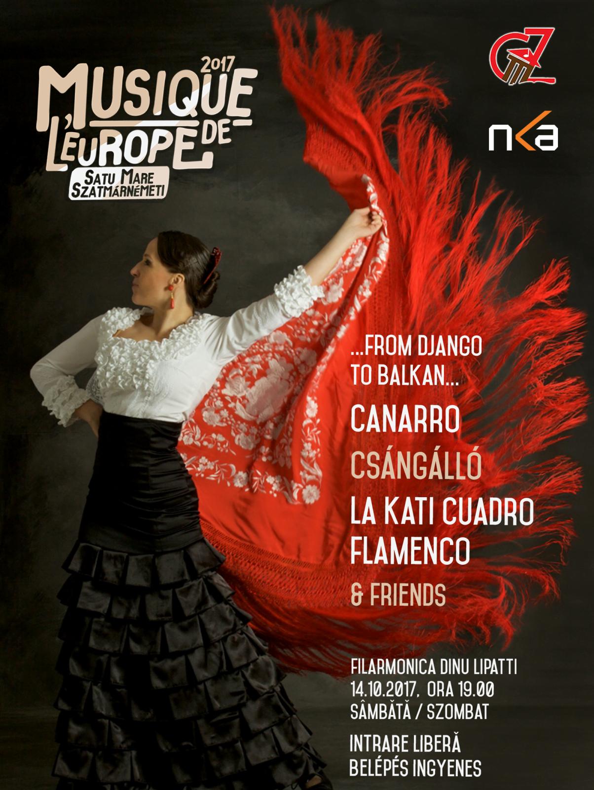 Musique de l`Europe,  un festival care călătorește prin lume sosește la Satu Mare