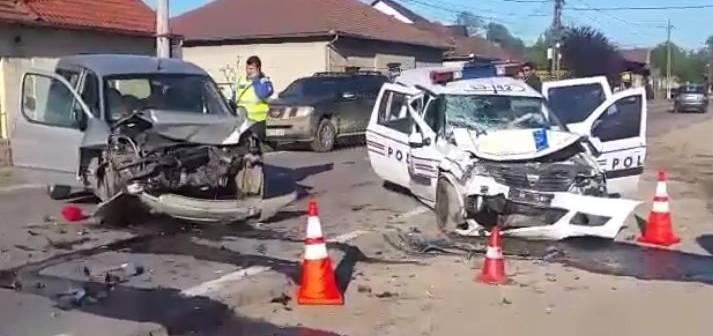 Un polițist care a produs un accident de circulație în timpul unei urmăriri a scăpat de plata daunelor după 3 ani de procese