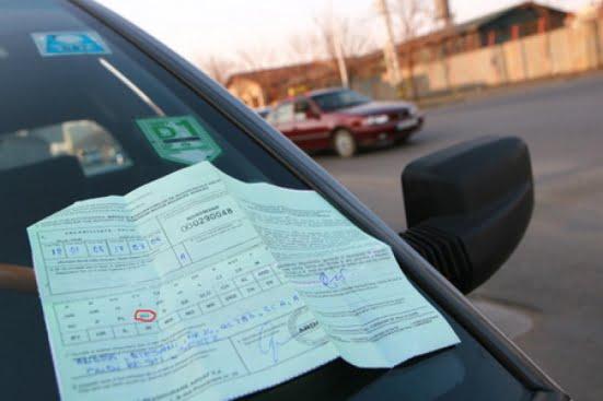 Șofer prins cu asigurare la mașină falsificată acasă
