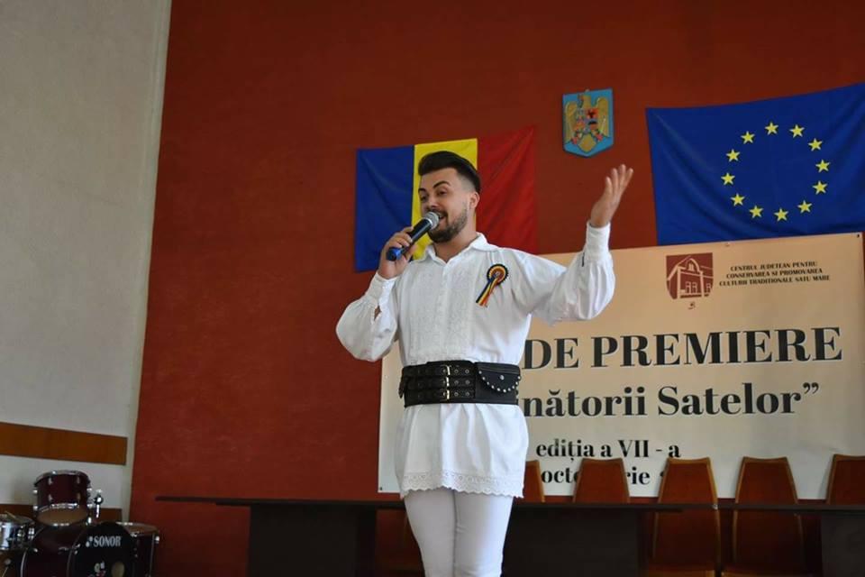 """Sătmăreanul Marian Buzilă, în semifinala concursului """" O vedetă populară"""" de pe TVR"""