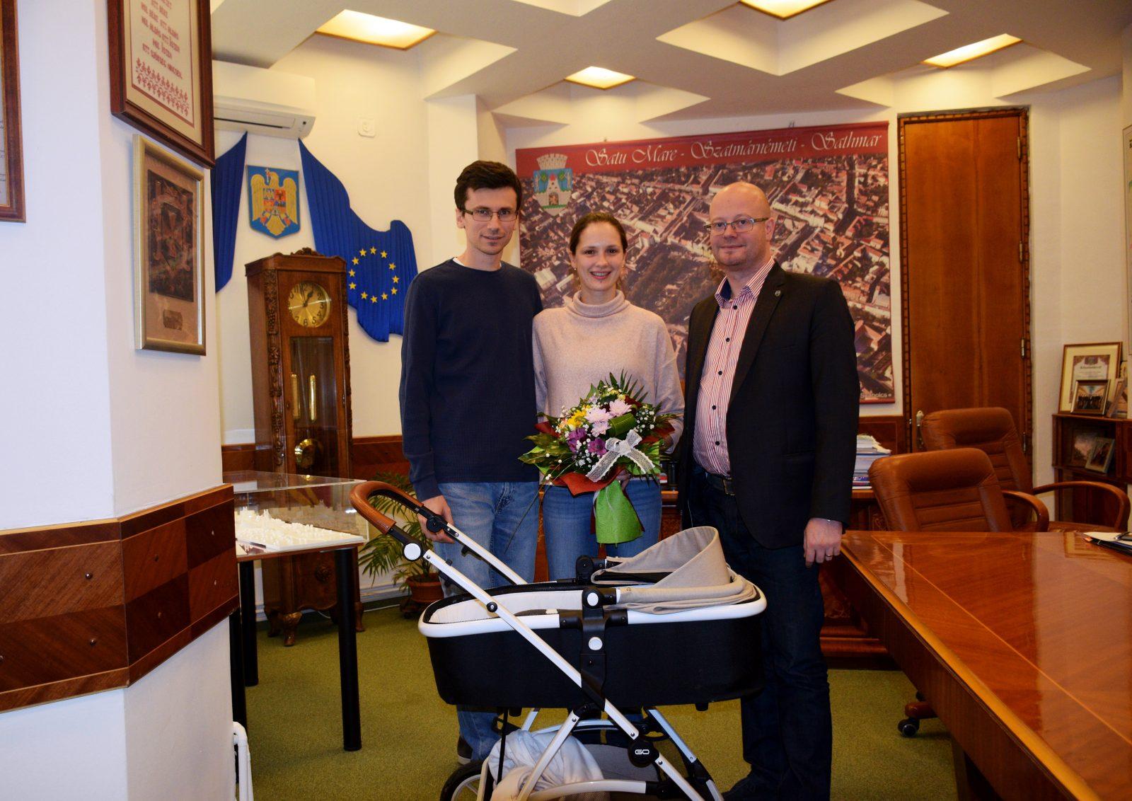 Egy bajnokcsalád látogatóban a polgármesteri hivatalban
