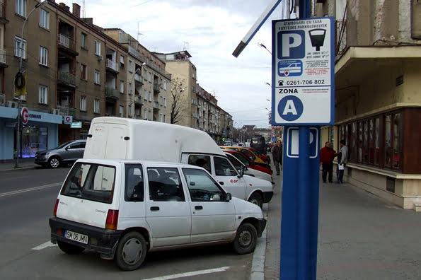 Se dublează taxa de parcare în zona centrală, amenzile dar și pentru abonamentele din cartiere