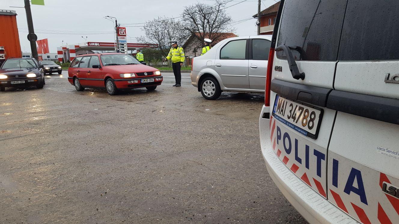80 de șoferi au căzut prada polițiștilor rutieri în prima zi a săptămânii