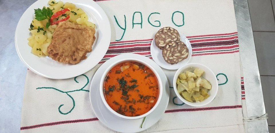 Mănâncă bine, gustos și generos, meniul zilei la Yago. Cel mai bun preț, cea mai bună mâncare