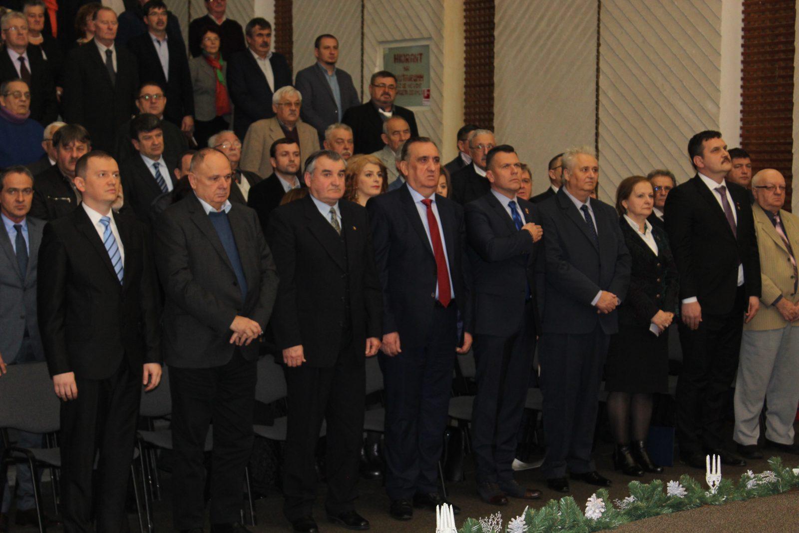 Consiliul Județean Satu Mare a aniversat 25 de ani de la înființare. Toți foștii consilieri au fost premiați
