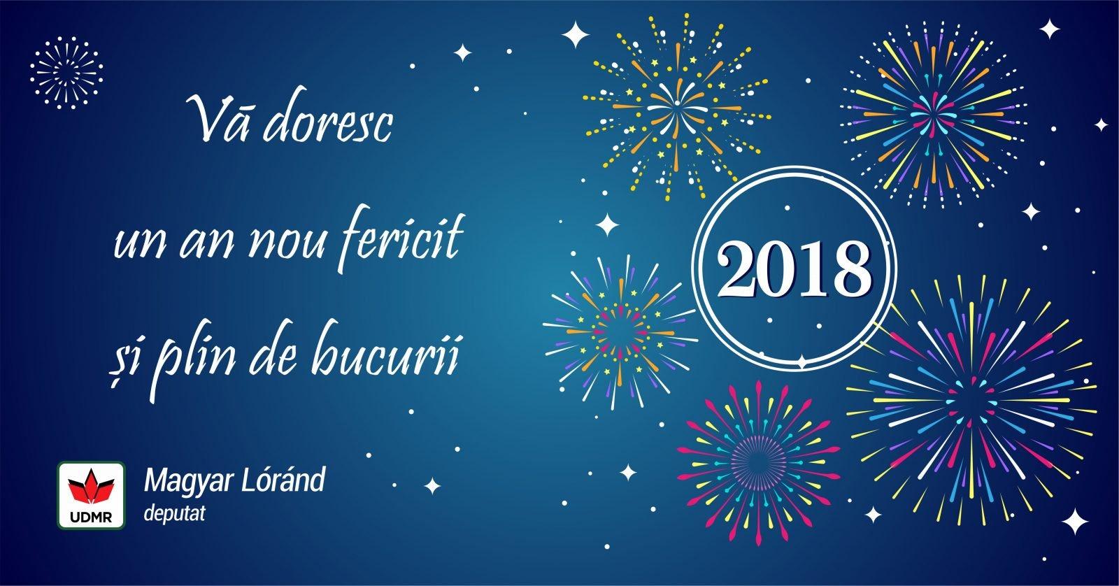 Felicitarea de Anul Nou a deputatului UDMR, Magyar Lorand