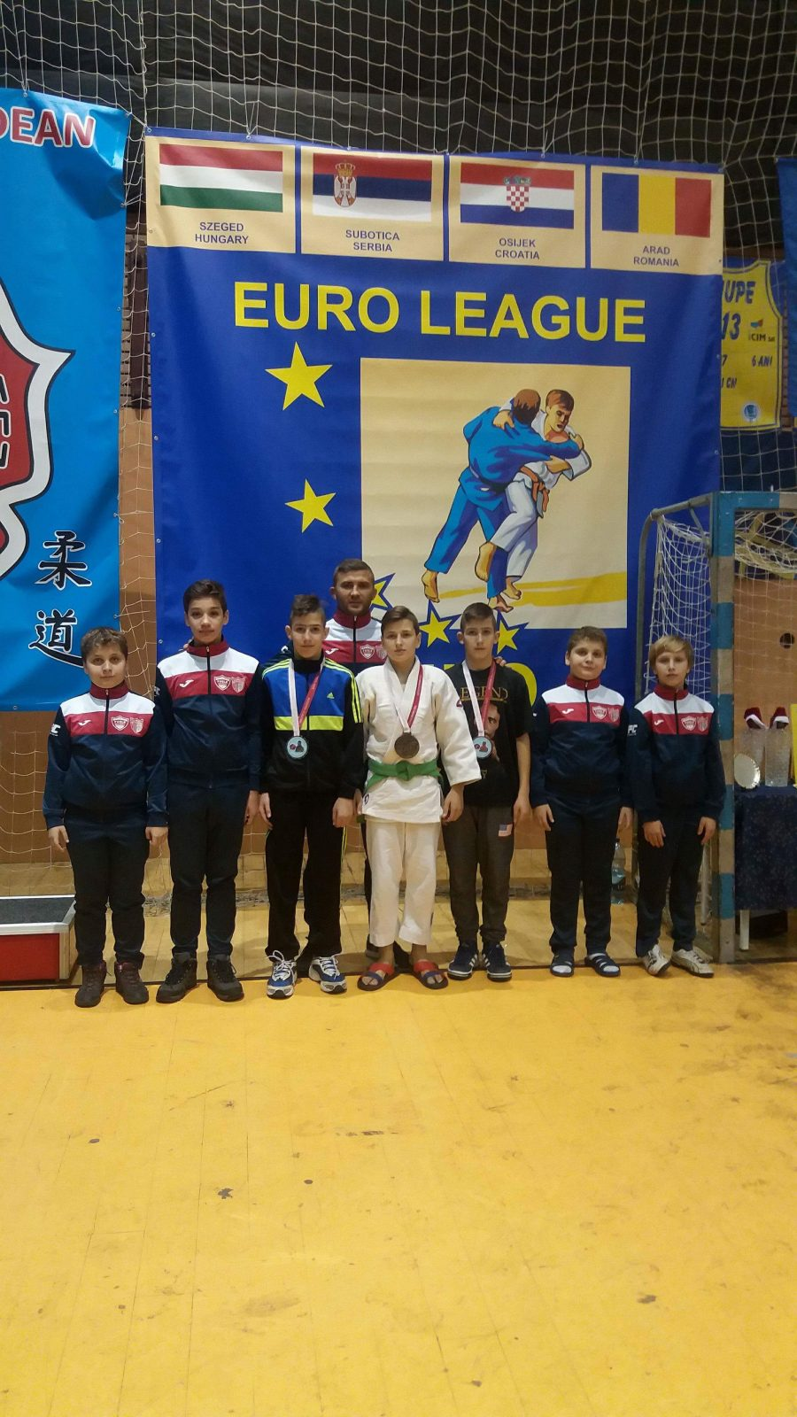 Sportivii de la CSM – CS Fușle Security s-au întors cu trei medalii de la ultima competiție din acest an