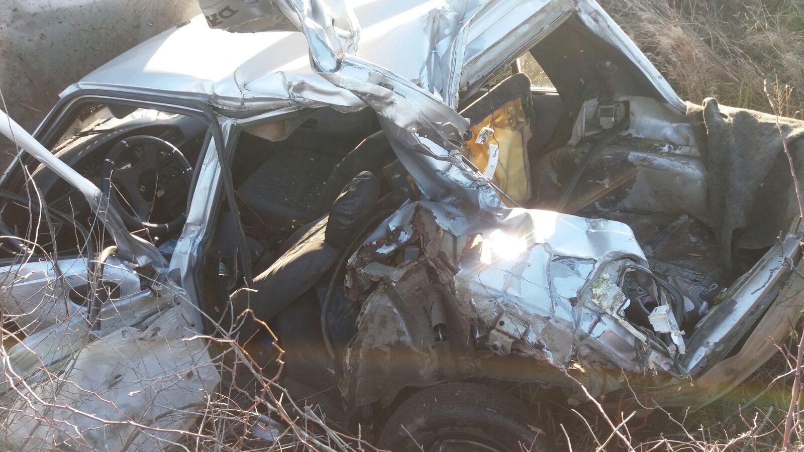 Imagini de groază de la accidentul de tren dintre Tășnad și Cig. O femeie și-a pierdut viața