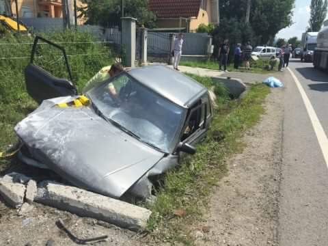 Un puști teribilist din Bixad, beat, a provocat un accident cu victime la Racșa