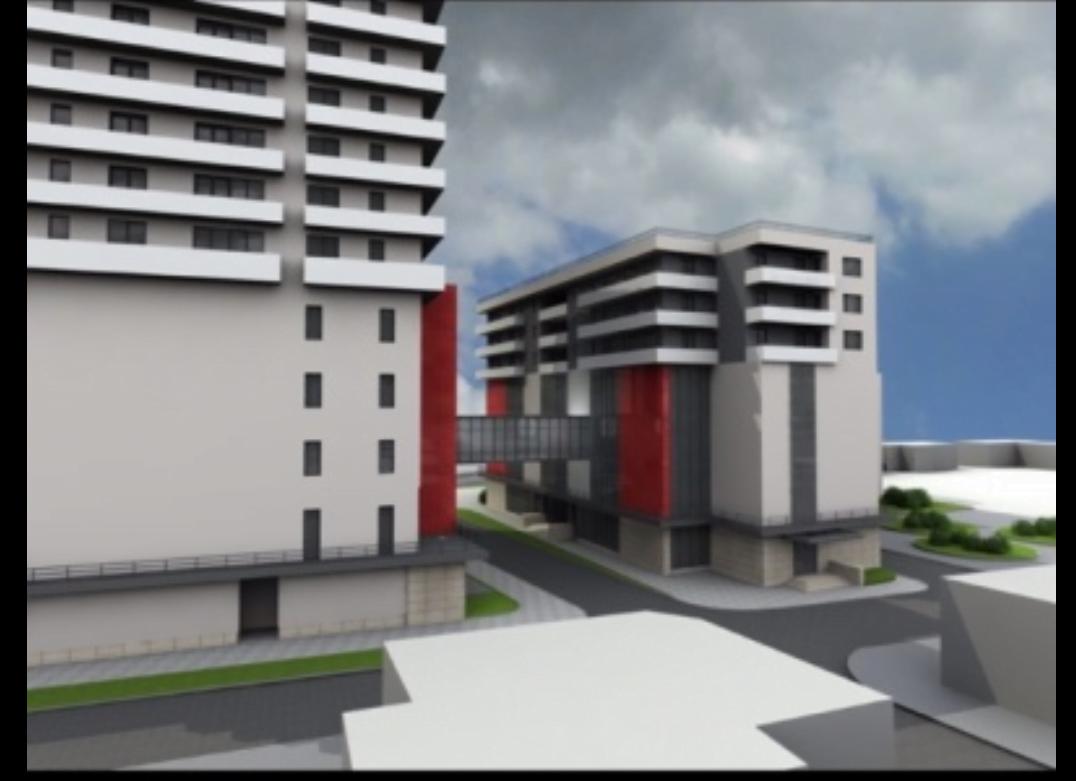Un nou complex de locuințe se ridică în oraș. Un proiect vechi ce prinde contur