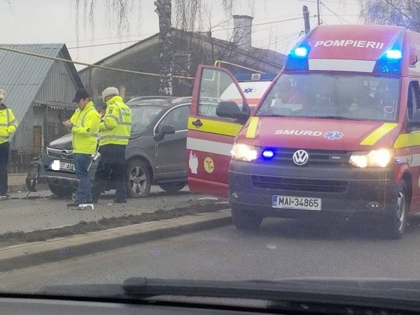O fetiță de 10 ani a fost accidentată pe trecere de o femeie din Dorolț