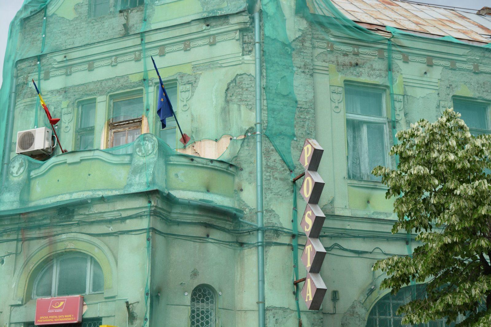 Poșta nr.1 la un pas de a se dărâma. Deputatul Magyar Lorand face eforturi pentru a salva clădirea