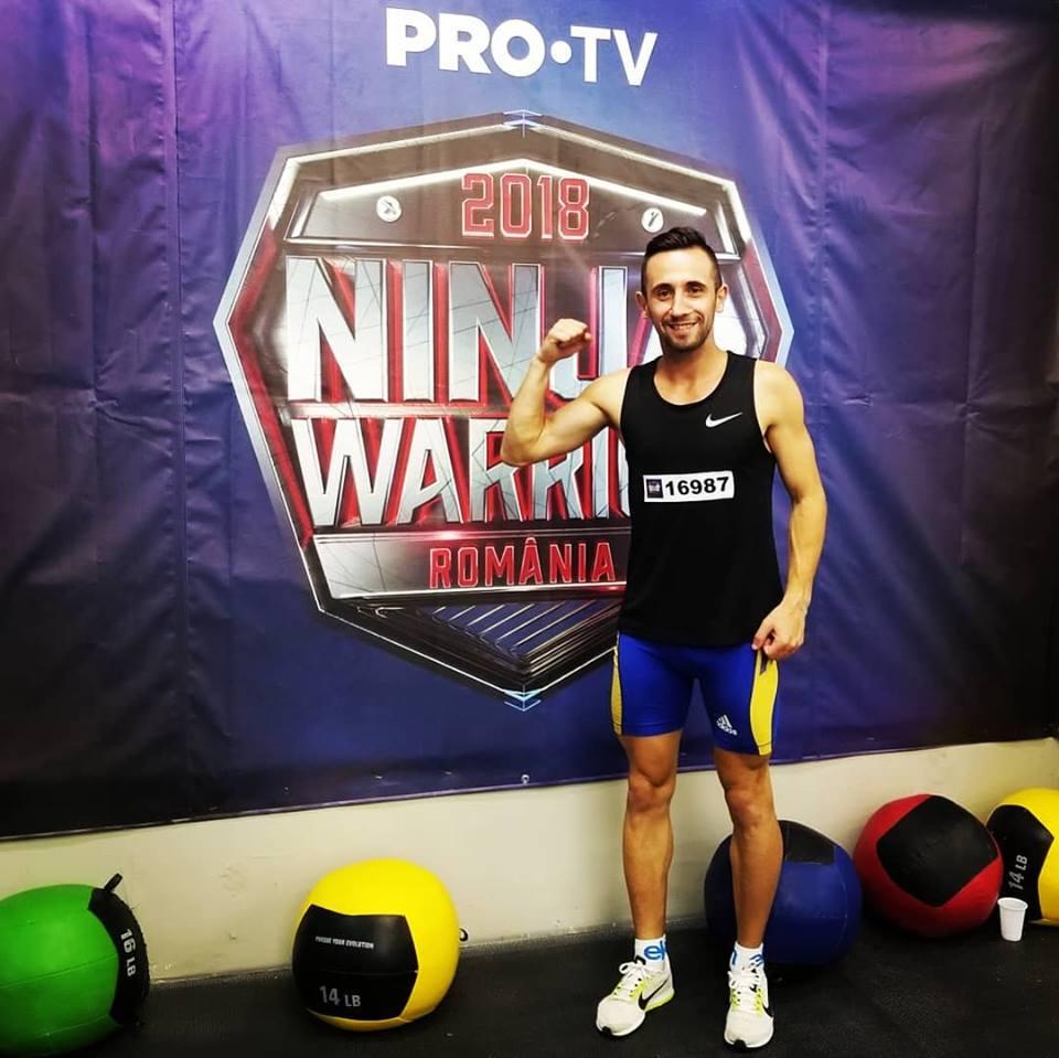Sătmăreanul Claudiu Gorgan va lua parte la cel mai nou show TV – Ninja Warrior