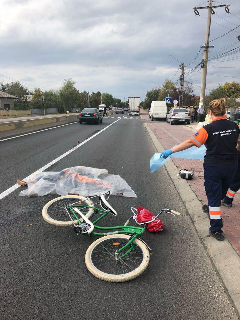 Accident de bicicletă mortal petrecut în Ardud