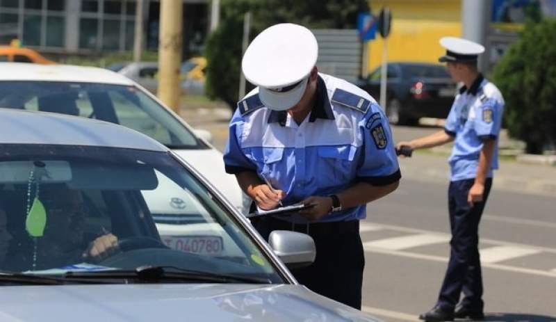 Autovehicule neînmatriculate depistate de polițiști în trafic