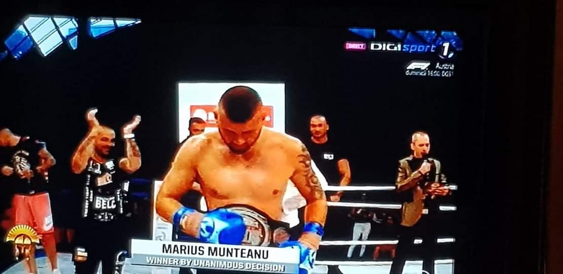 Sătmăreanul Marius Munteanu e campion. Aduce acasă o centură de la categoria grea