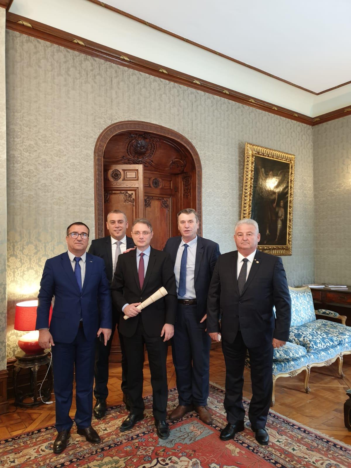 Deputatul Magyar Lorand prezent la Paris pentru discuții pe tema politicilor agricole