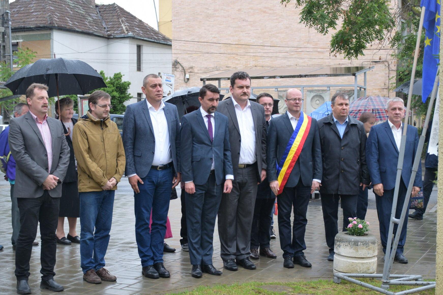 Deputatul Magyar Lorand a adus un omagiu victimelor inundațiilor din 14 Mai 1970