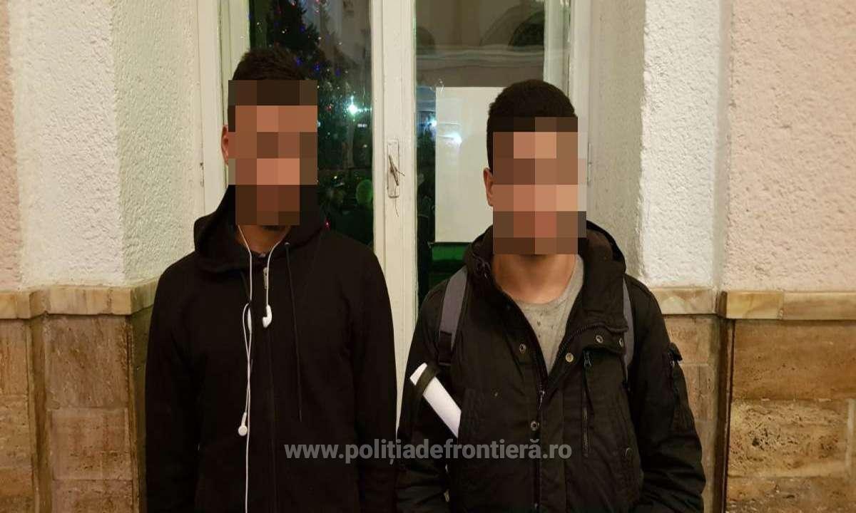 Doi minori din Libia au încercat să iasă din România pe la Oar, în mod ilegal