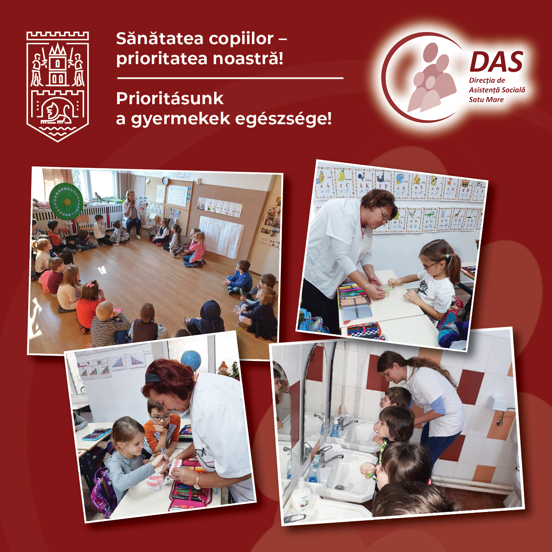 Două școli din municipiul Satu Mare au cabinetele stomatologice proprii