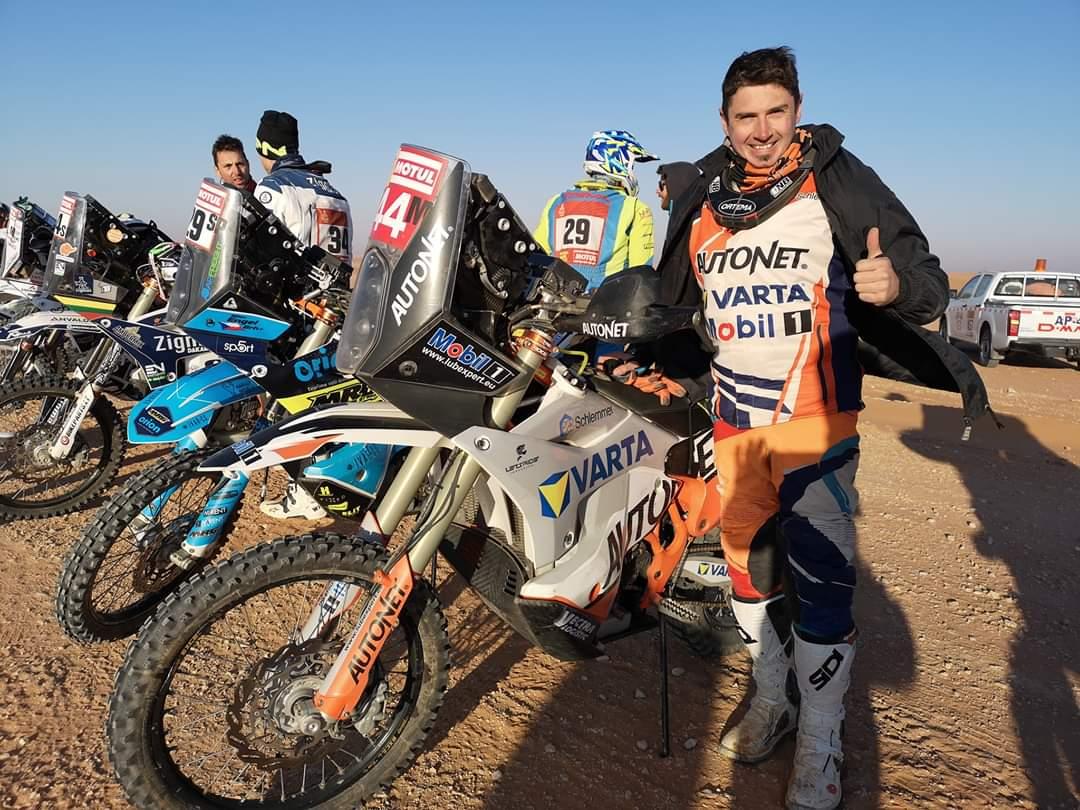 Felicitări Many! Sătmăreanul nostru a câștigat Dakarul la clasa Motto
