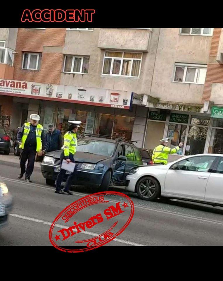 Accident în cea mai aglomerată zonă din oraș dimineața – traficul dat total peste cap