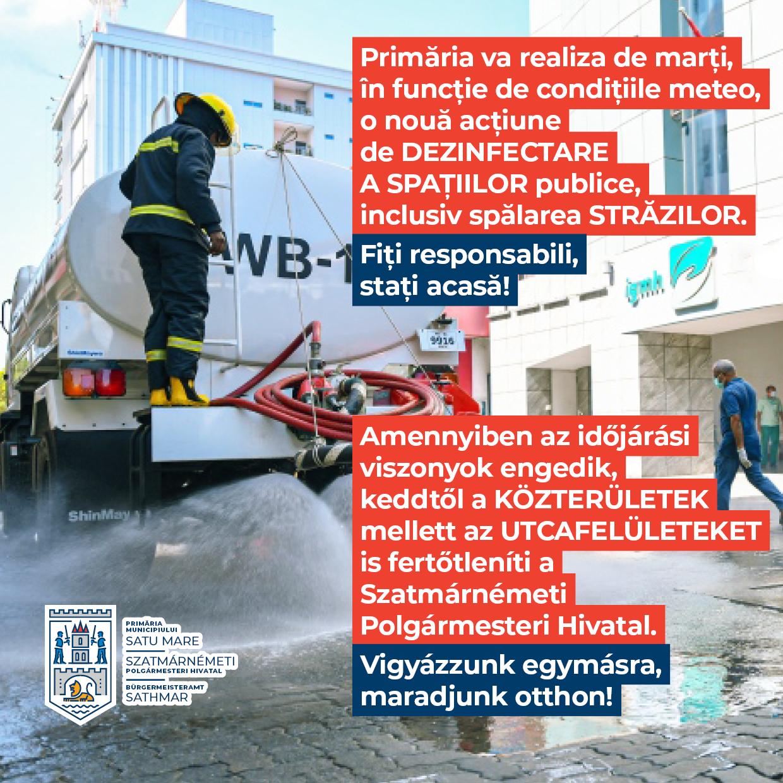 După lungi insistențe ale cetățenilor, primăria anunță că va spăla străzile