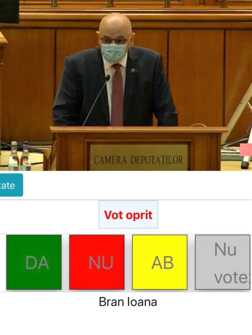 """Deputat Ioana Bran:""""sănătatea romanilor este mai importanta decât orice dispută politică"""""""