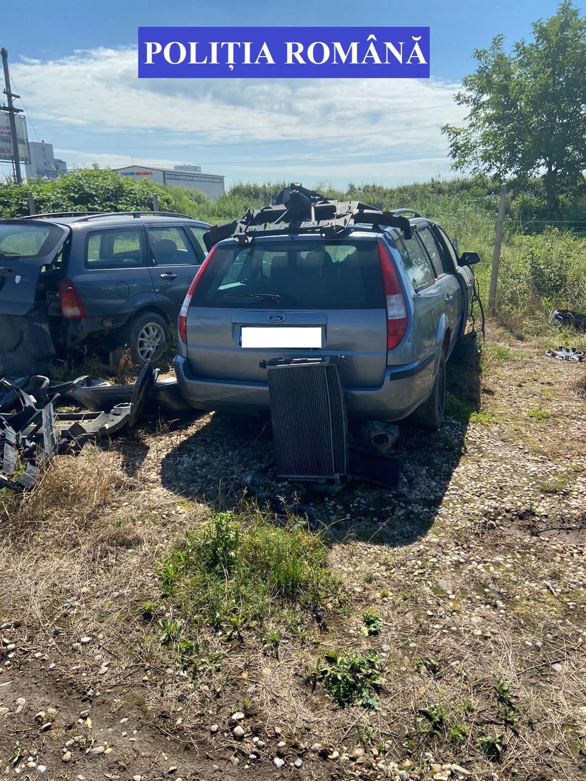 Razie la firmele de dezmembrări auto – două dintre cele verificate au fost amendate